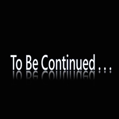 to be continued: image de couverture
